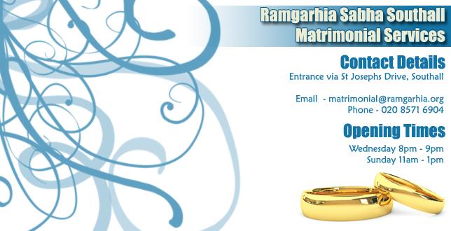 Ramgarhia Matrimonial Services
